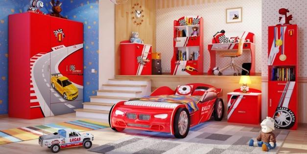 Кровать машина для ребенка: трудности выбора