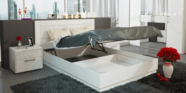 Выбираем кровать с подъемным механизмом