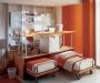Выкатная кровать для двоих детей как уникальное решение интерьера