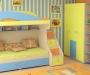 Кровать чердак с диваном для детей