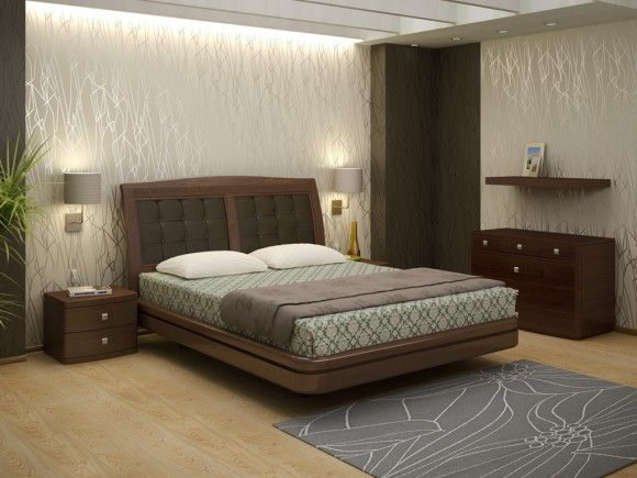 кровать из шпона дуба