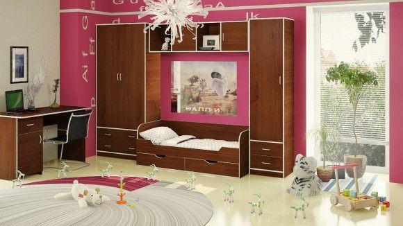 Детская кровать от 5 лет с ящиками