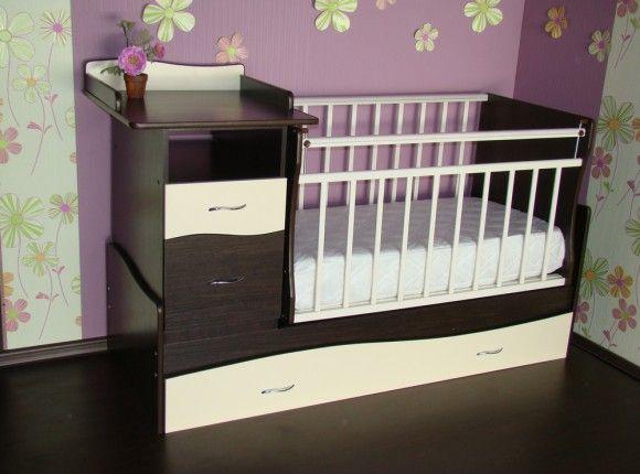 Детская кровать-трансформер в интерьере