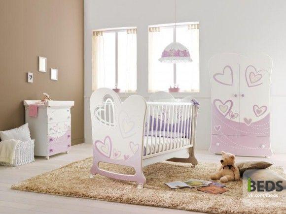 премиум кроватка для младенца