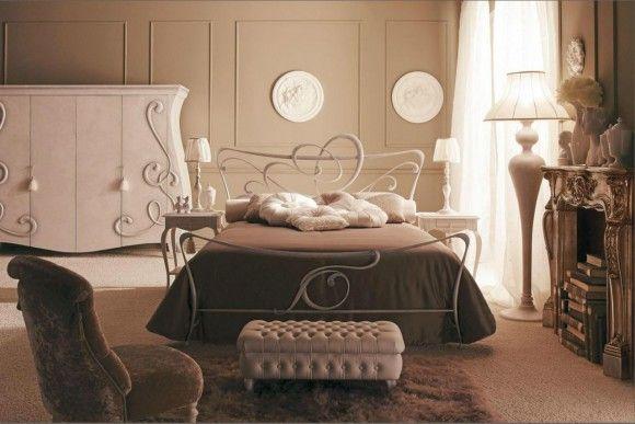 Дизайн кованных кроватей