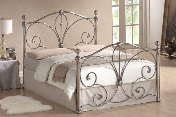 Железная кровать для одного
