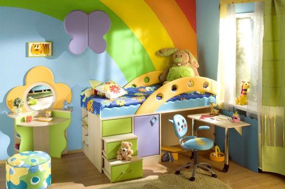 Кровать-чердак для малышей