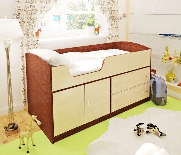 Кровать-чердак для самых маленьких