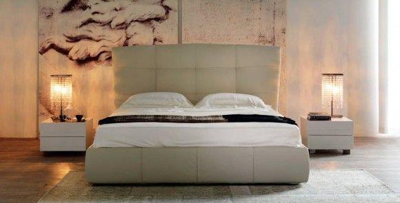 красивая кровать-подиум