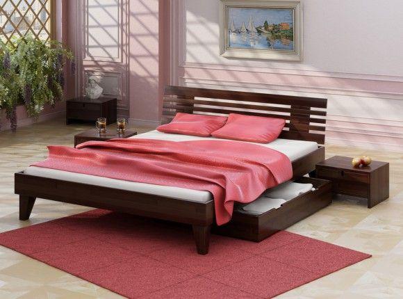 Двуспальная кровать с ящиком