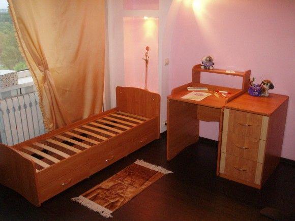 разобранная кровать трансформер