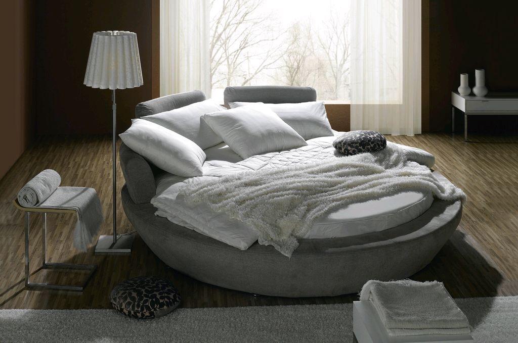Выбираем круглую кровать