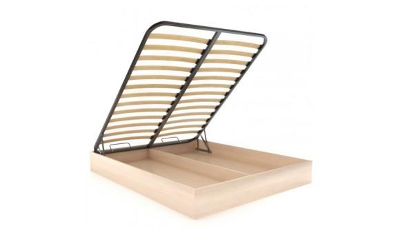 Кровать с подъемным механизмом с ламелями
