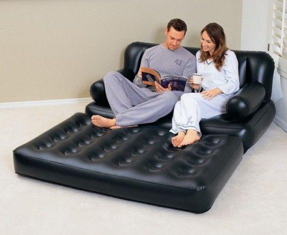 Диван кровать наполненный воздухом