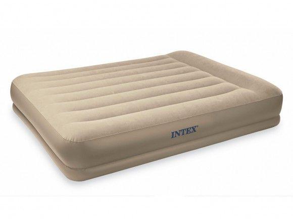 Надувная кровать фирмы intex