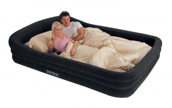 Надувная кровать со спальным местом