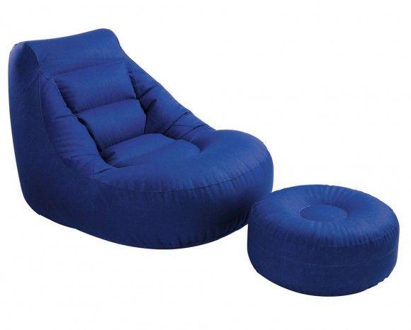 Кресло кровать с пуфиком