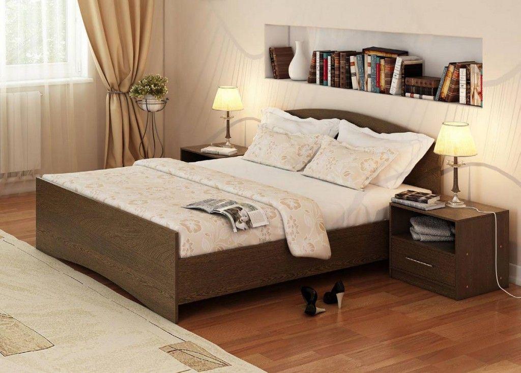 дешевая кровать из дерева