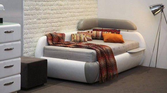 Элитная односпальная кровать