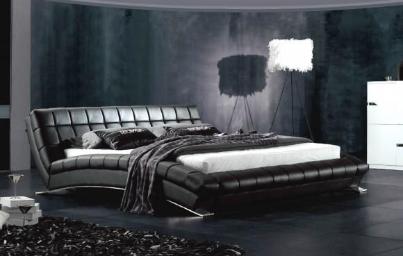 Китайская двуспальная кровать