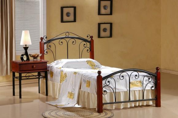 Кованная односпальная кровать