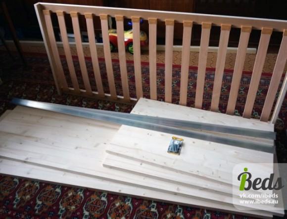 Строим детскую кровать
