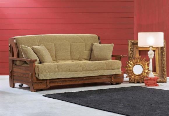 Удобный диван, который может стать кроватью