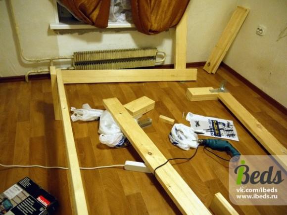 Строительный материал для кровати