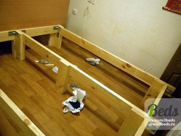 Строим кровать сами