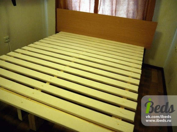 Собственноручно сделанная кровать