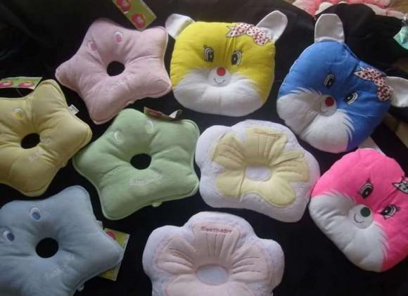 Различные подушки для малышей