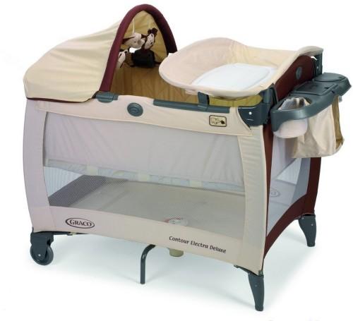 Раскладная кровать для малыша