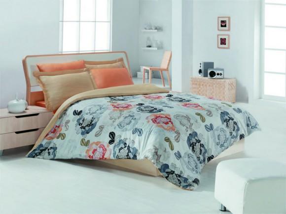 Семейная постель с цветочками