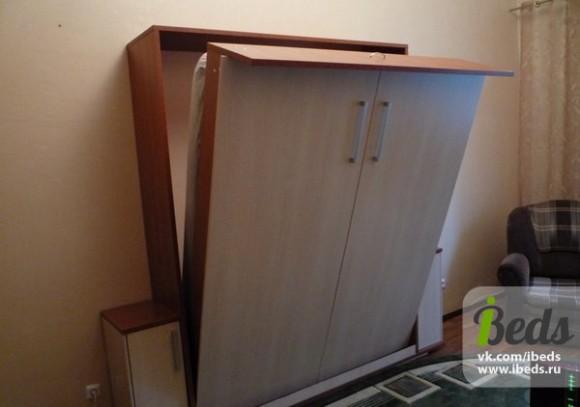 Шкаф-кровать самодельная