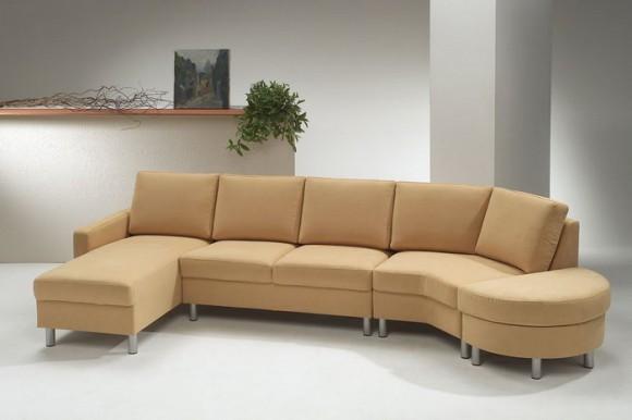 Красивый диван для удобства