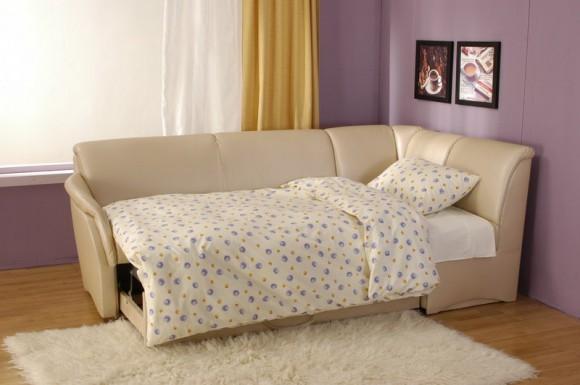 Спальное место в диване