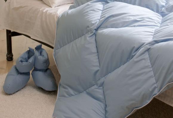 Удобно спать с одеялом