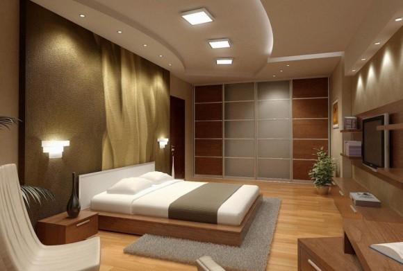 Освещение спальни по фэн-шуй