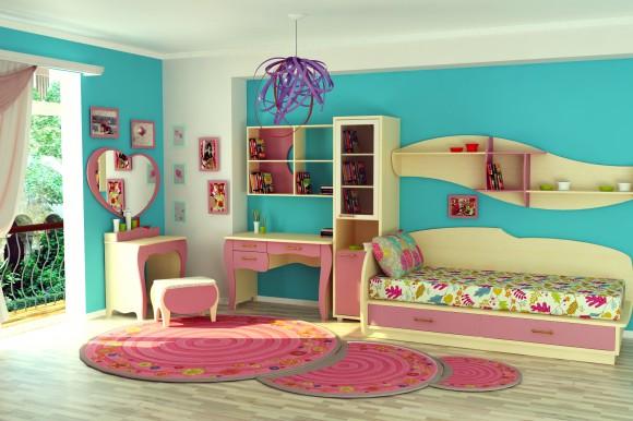 Нежная спальня для ребенка