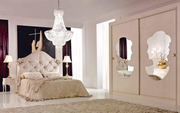 Красивая и нежная спальня