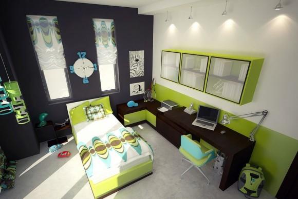 Модная спальня для ребенка