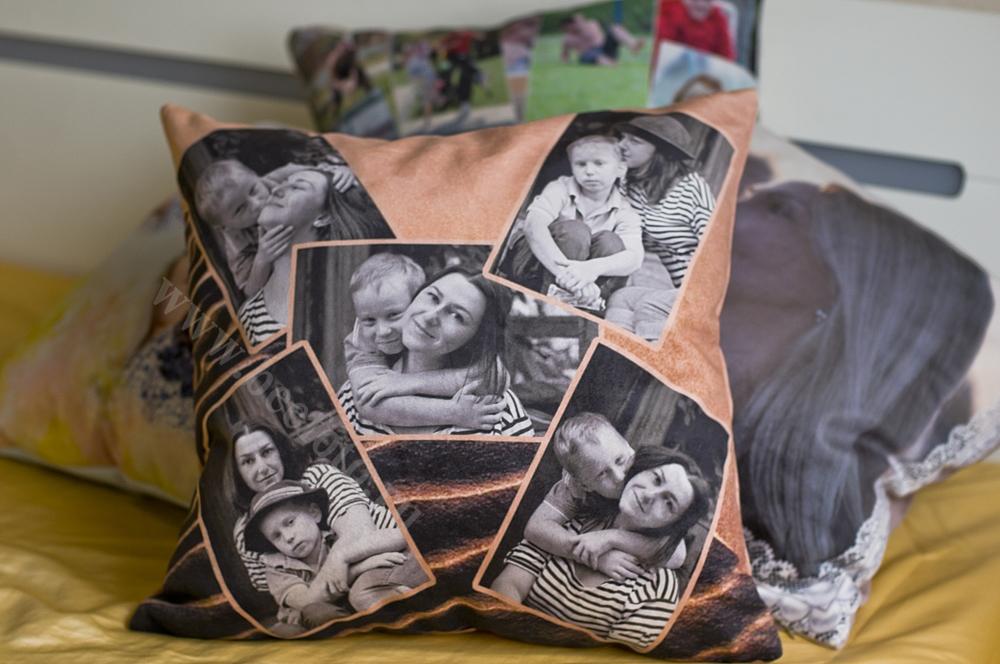 Подушка с фотопечатью