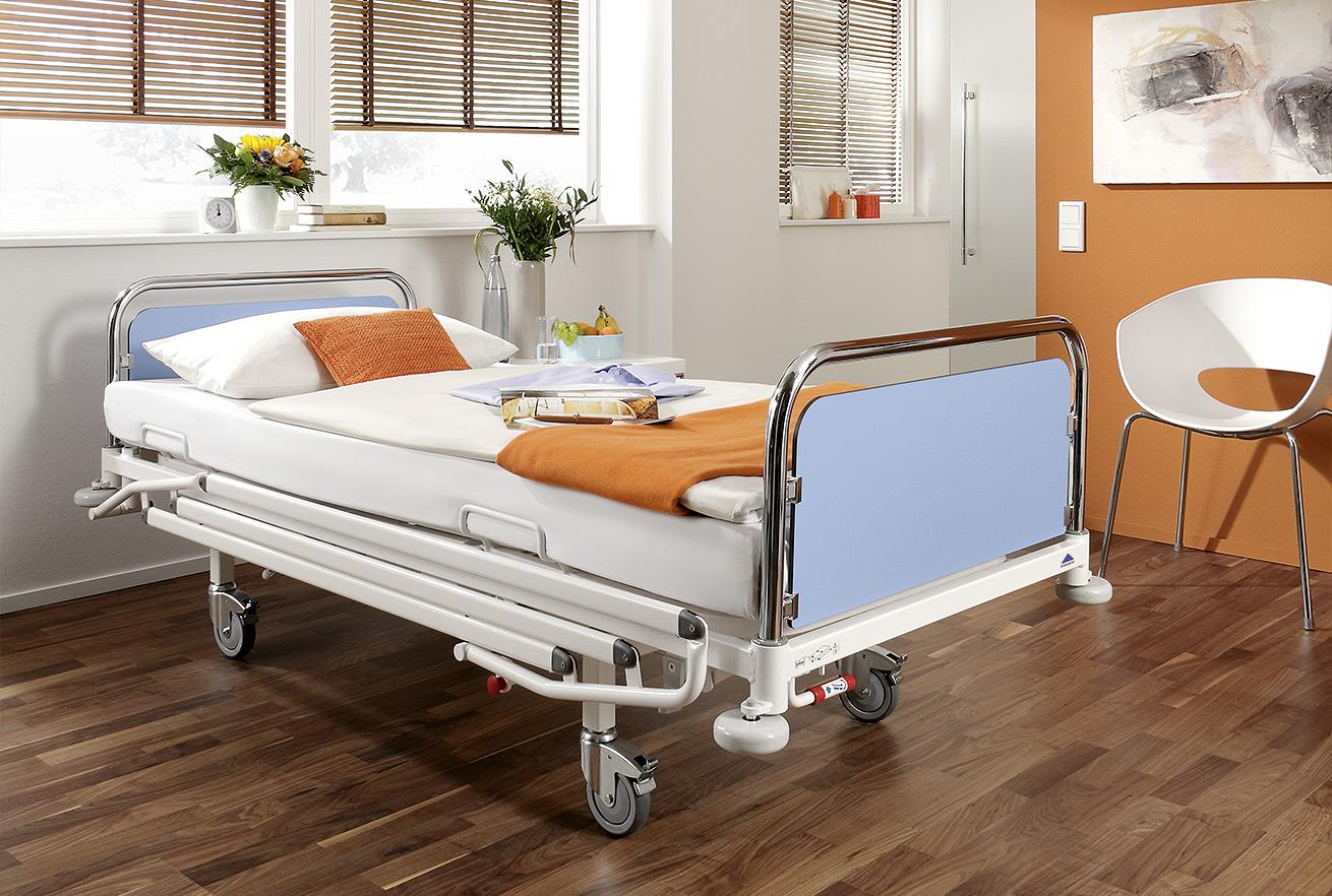 удобная кровать для инвалидов
