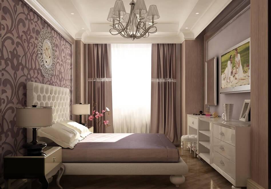 Оформление небольшой комнаты