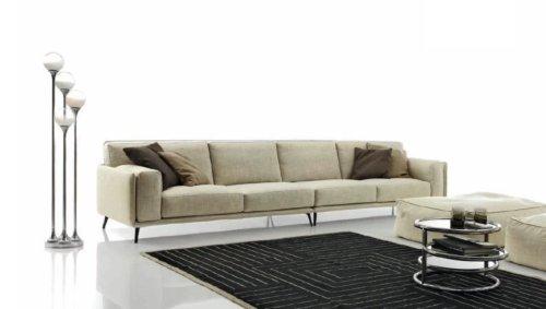 Бежевая мягкая мебель