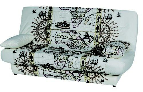 Обивка с картой мира
